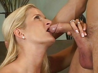 blond milfs ball licking oral stimulation act