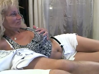 blonde older retro porn teasing at livecam