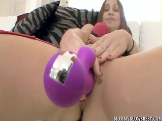 cheating wife julia silver showing off blowjob