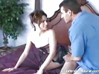chic mother i hottie shows off in her bedroom