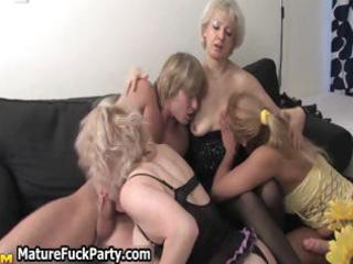 three experienced older wives getting part8