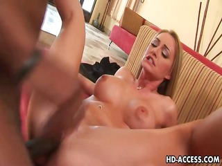 hawt blond aline interracial sex