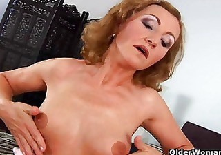 small titted senior lady screwed from behind