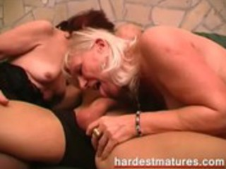 matures with a slutty younger stud