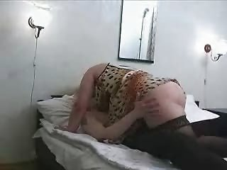 aged overweight mama in nylons with sons ally